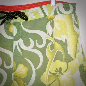 Tommy Bahama Relax Swim Trunk Shorts L Floral